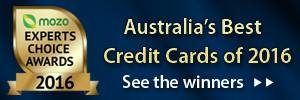 Experts Choice 2016 - Australia's Best Credit Cards