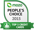 Top 5 credit cards 2015