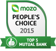 Top 5 mutual bank 2015