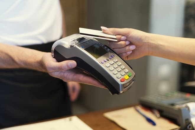 Contactless payments content
