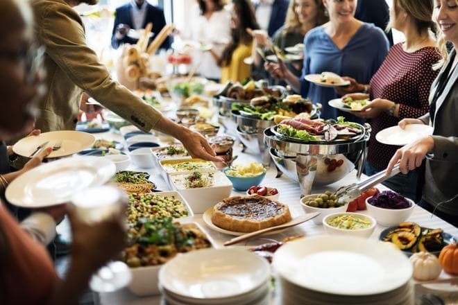 <p>World Savings Day: the Mozo office lunchshare</p>