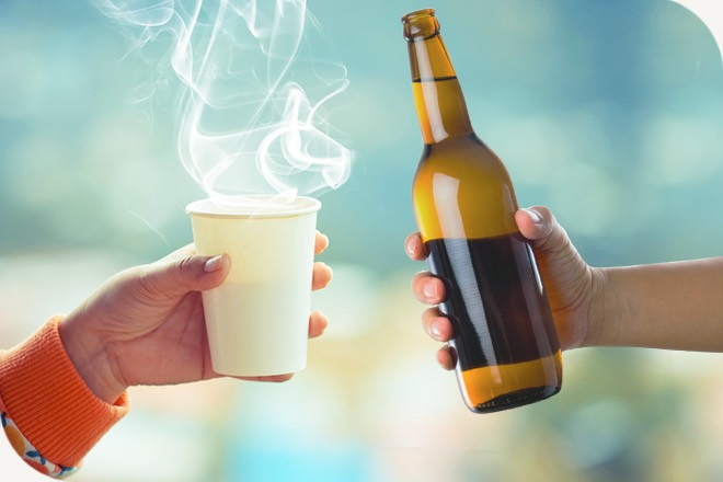 Aussies are more likely to splash their cash on a hot coffee than a cold beer, according to Mozo's 2017 Cost of Lifestyle Report.