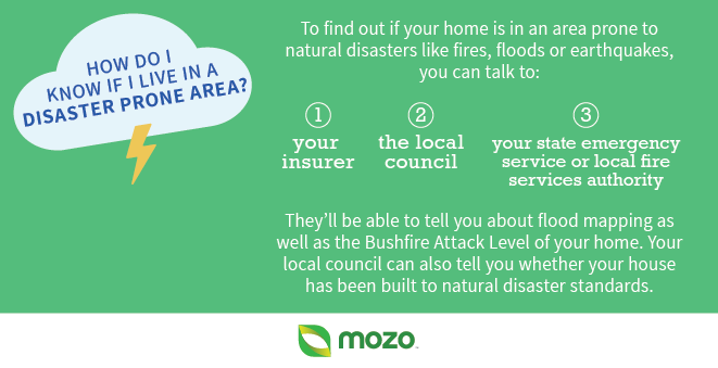 Disaster prone areas - home insurance