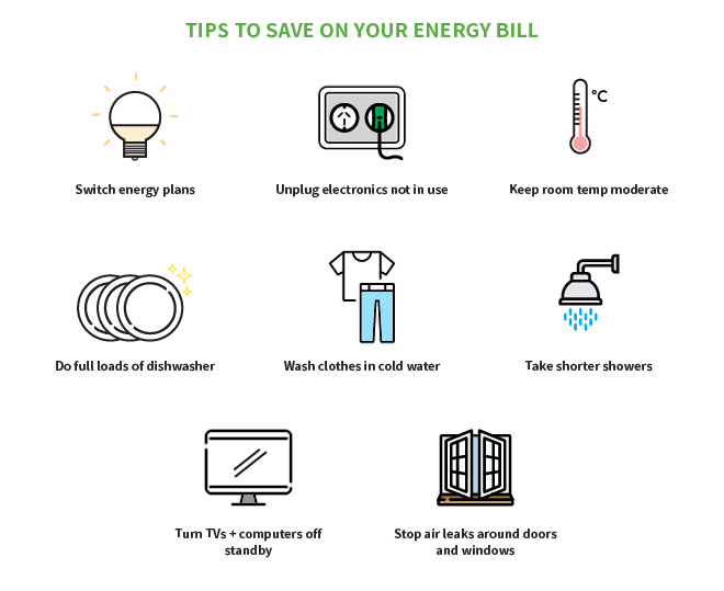 Tips to save on your energy bill