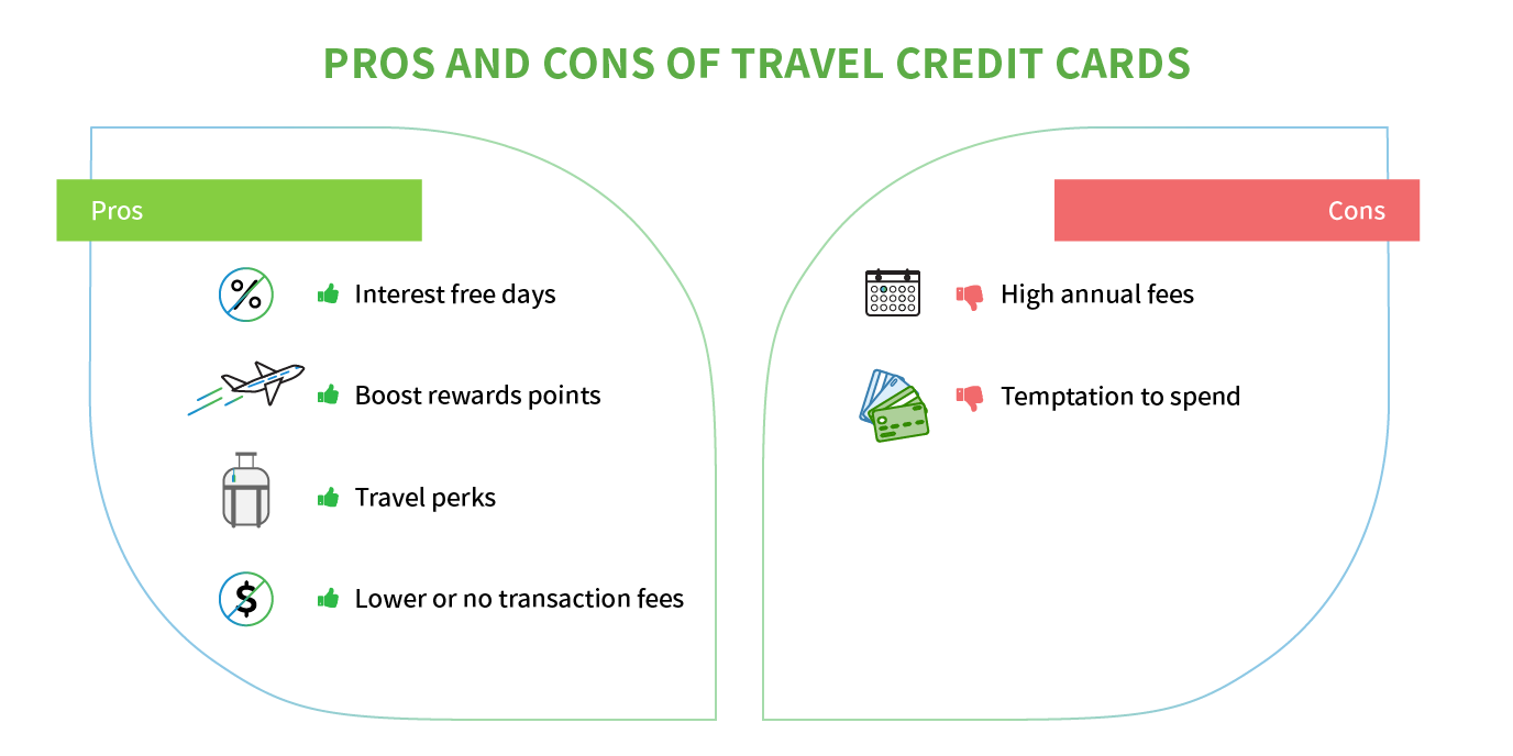pros and cons travel credit card
