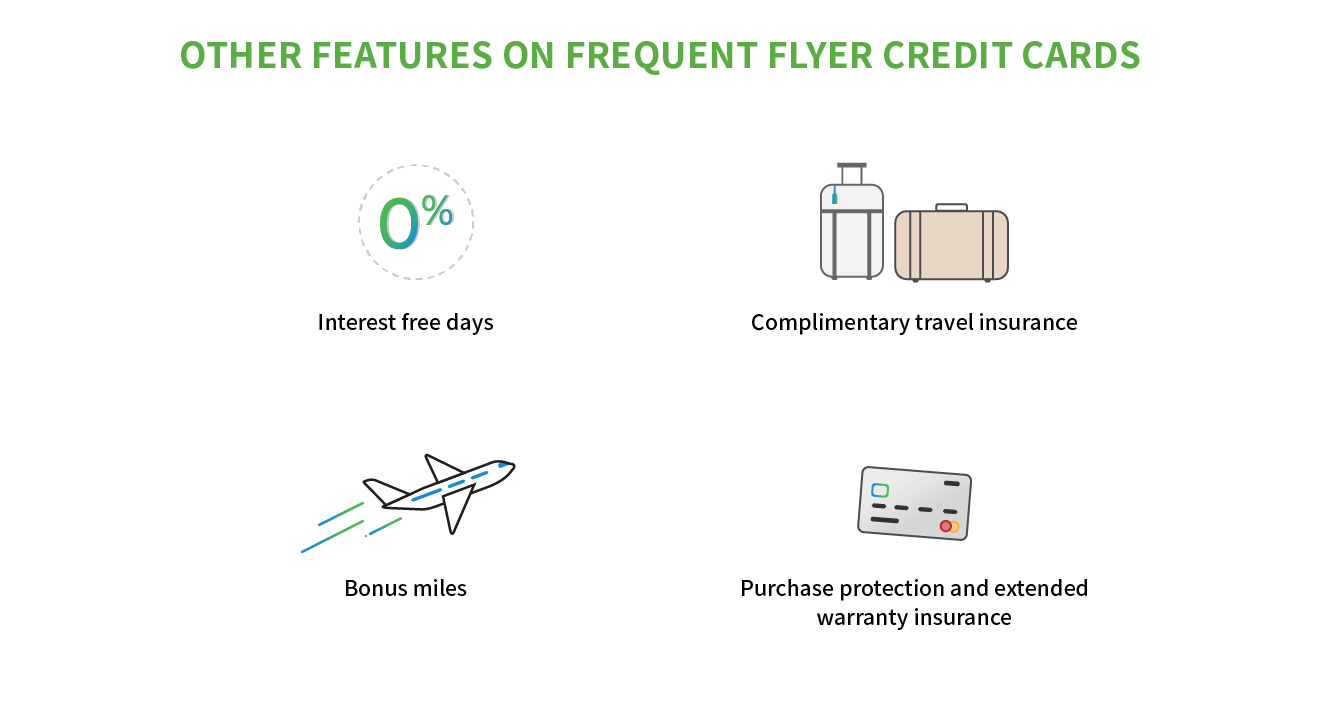 frequent flyer credit card features