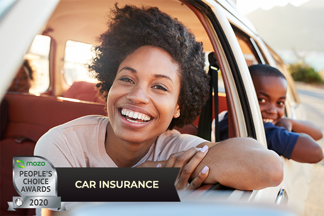 Who's driving away with the top car insurance ratings in the Mozo People's Choice Awards?